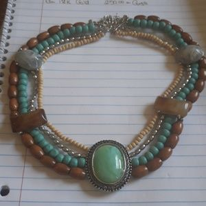 Jewelry - Turquoise costume western necklace